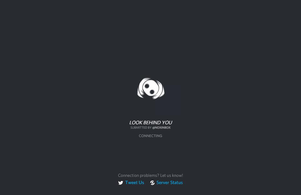 صفحه لودینگ دیسکورد
