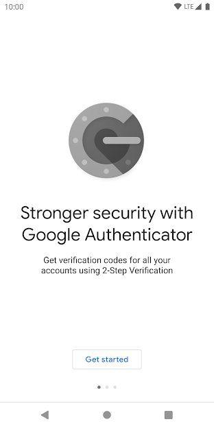 نصب کردن google authenticator