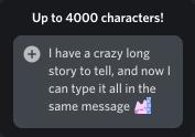 Up To 4K Character - خرید نیترو دیسکورد